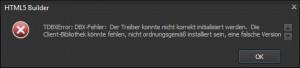 HTML5_Builder_TDBXError_DBX-Fehler