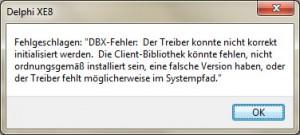 Rad_Studio_XE8_TDBXError_DBX-Fehler