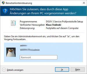 Benutzerkontensteuerung_DGUV3_Service
